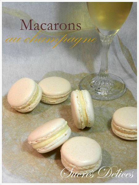 macarons champagne 5