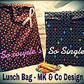 Lunch bag mk & co design (modèles déposés)