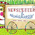 + newsletter du printemps + réalisée tout