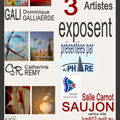 Exposition à Saujon (Salle Carnot- Avril 2010)