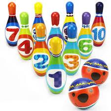 ensemble jeu bowling