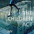 The children act, ian mcewan