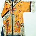 Robe. china, early 20th century
