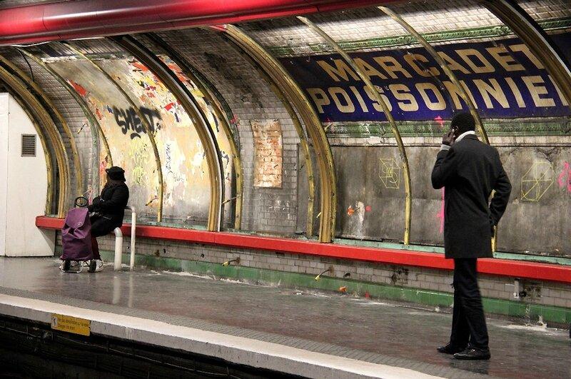1-Affiches déchirées, M° Marcadet Poissonnière_1607