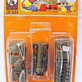Blister & vehicules militaires marque jean