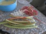gâteau aux framboises et rhubarbe du jardin 010