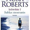 Sables mouvants - nora roberts