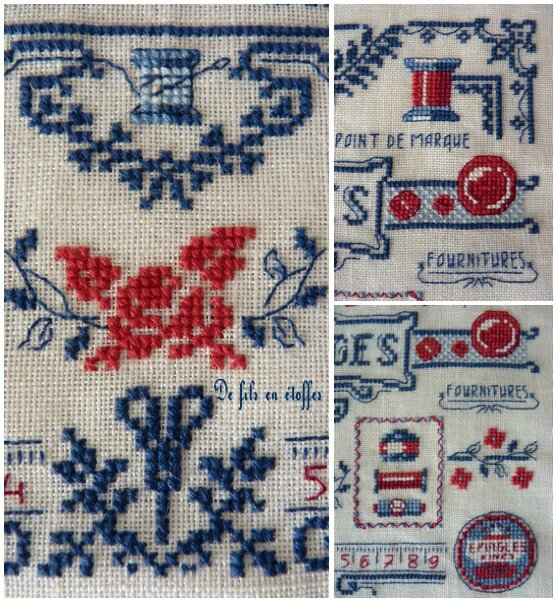 Broderie Ouvrages 2