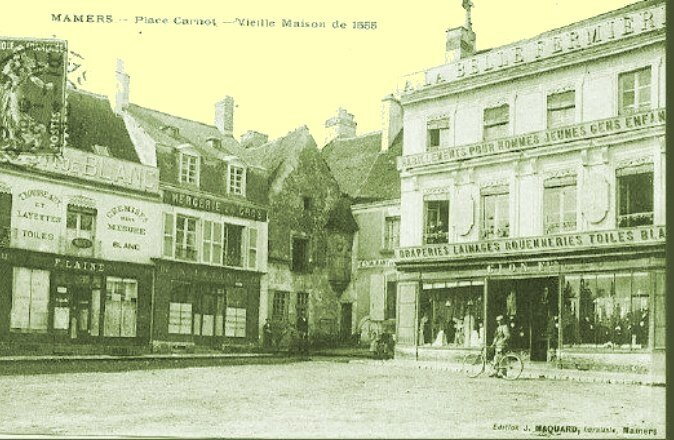 Mamers 15 place Carnot