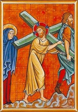 14- Le portement de Croix