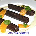 Cannellonis au chocolat