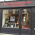 Ouverture d'une librairie vendant exclusivement des livres en allemand à paris