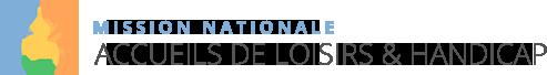 logo Mission nationale accueils de loisirs & handicap