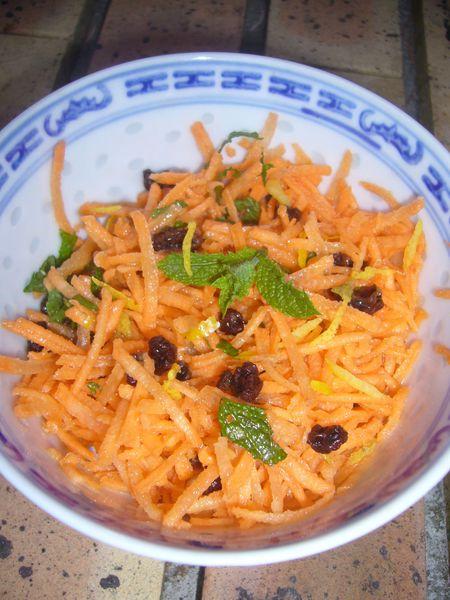 carotte rapee a l'orientale