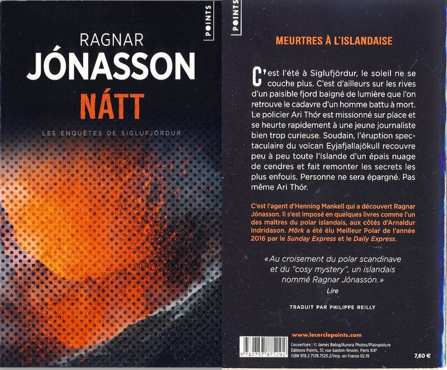 1- Natt - Ragnar Jonasson