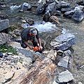 Commune : colmars les alpes cours d'eau : la lance (lc3) (cascade)
