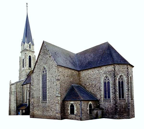 Le Sel de Bretagne, église Saint Martin