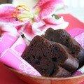 Gâteau au chocolat et tofu soyeux (sans beurre)