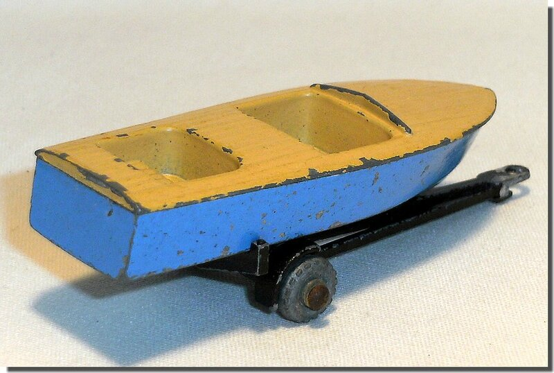 48 A Lesney Matchbox Meteor Boat and Trailer A 2