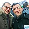 Manif à Amiens (22 mars 2018), Vincent & Hervé