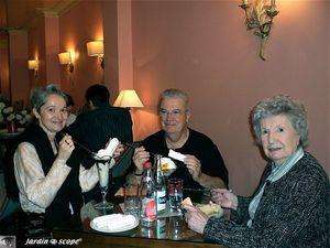 3 gourmands à Amboise
