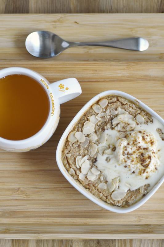 Porridge à l'amande au four_5