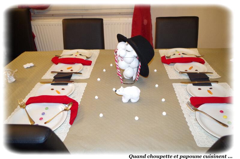 table bonhomme de neige-2811