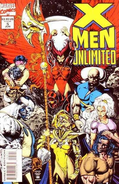 x-men unlimited 1993 05