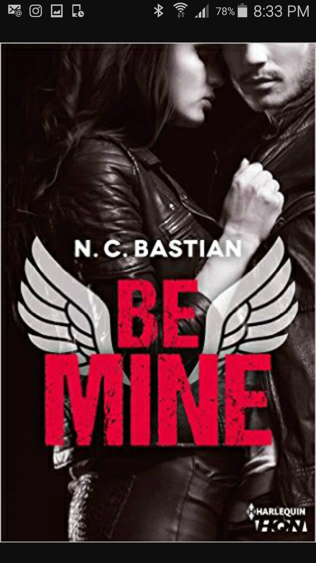 Be Mine N.C Bastian