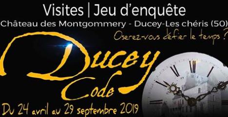 « Ducey code » - jeu d'enquête policière grandeur nature au château des Montgommery à Ducey - jusqu'au 29 septembre 2019