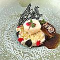 Foie gras, saint jacques et choux fleur à l'asiatique
