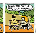 Strip 91 / bill et bobby / patron (suite)