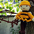 Honey bee dolls patron de cskraft