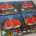 red robin coasters