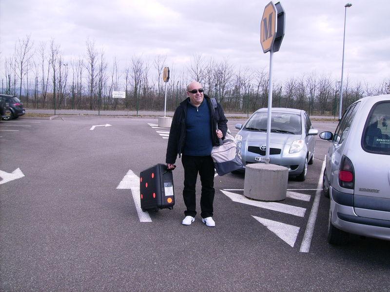 Départ de Mulhouse