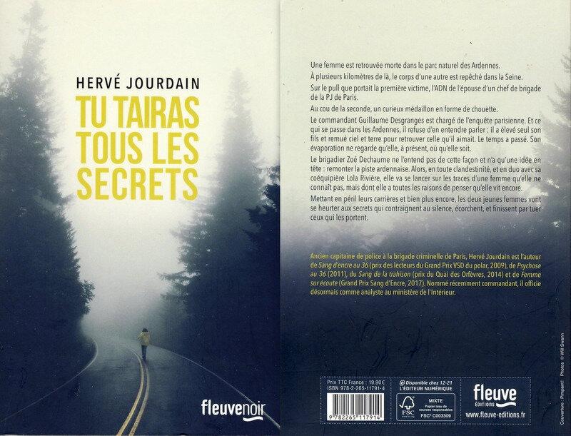3 - Tu tairas tous les secrets - Hervé Jourdain