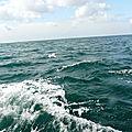 la mer..sortie en bâteau