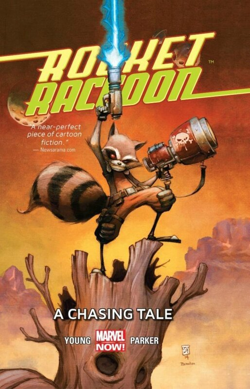 rocket raccoon vol 1 a chasing tale HC