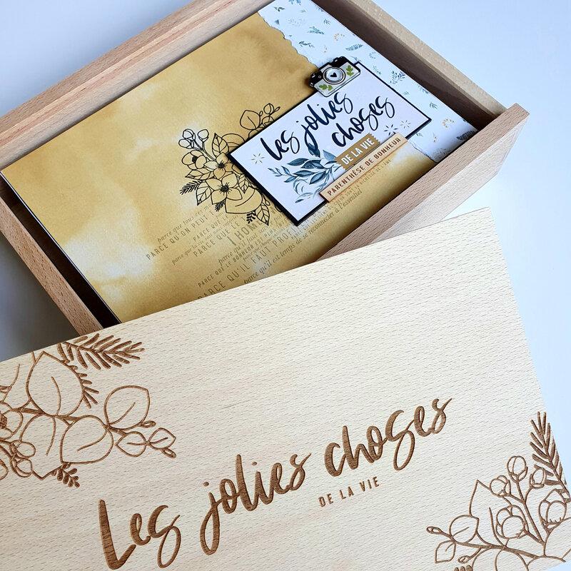 Le coffret créatif Les Jolies Choses de la Vie de Florilèges Design : l'album