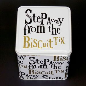 the Bright Side biscuits tin