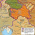 1948 - l'inde et le pakistan se disputent le cachemire