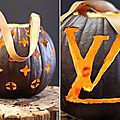 Louis vuitton en mode halloween.