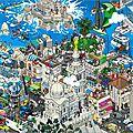 marseille pixelisée par EBOY