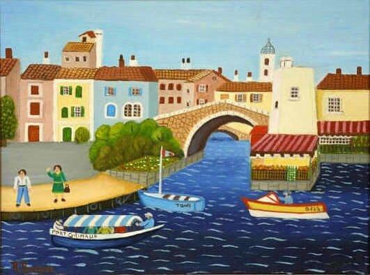 BOISSIER Port Grimaud 27 x 35