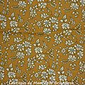 60 - Tissu Liberty Capel moutarde