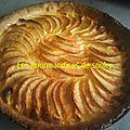 Tarte au pommes au lait concentré