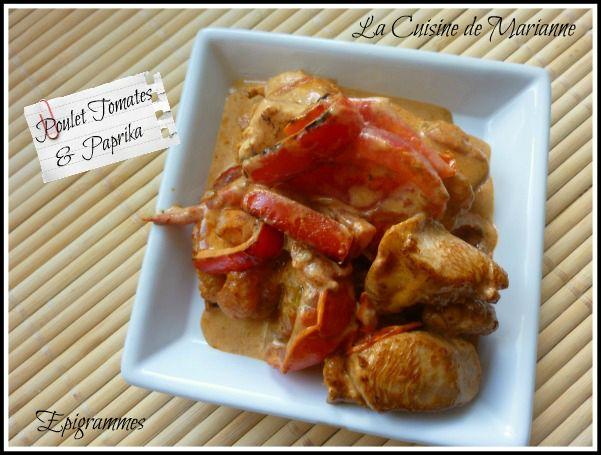 Poulet Tomate et Paprika01