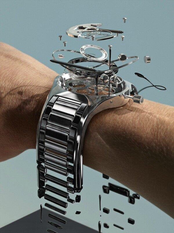 montre cassée
