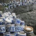 Débris de porcelaine (Tam Coc)