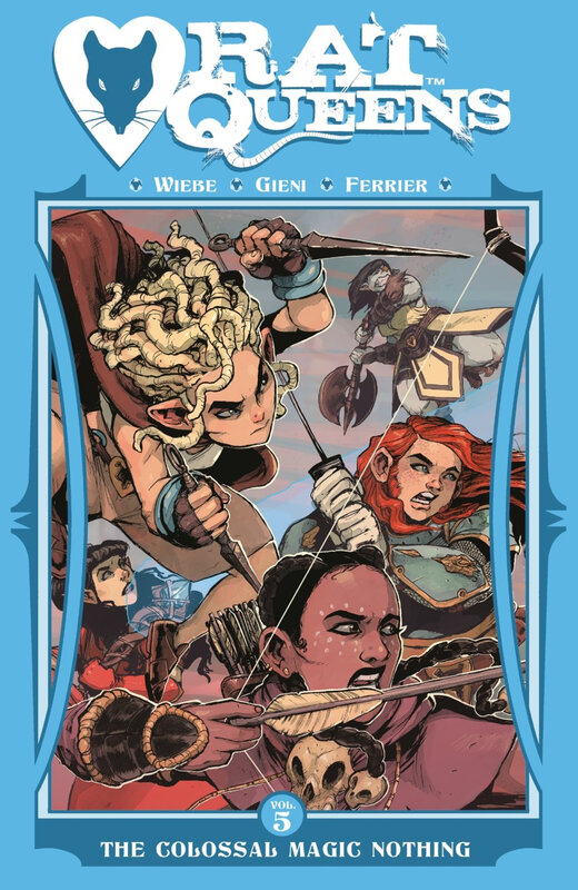 rat queens vol 05 the colossal magic nothing TPB